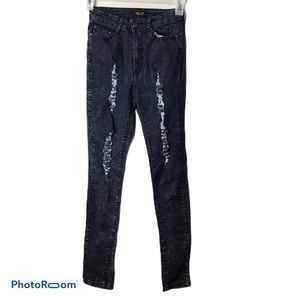 Red Fox Distressed Jeans